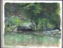 2017 Size: B5 水彩(Watercolor) 制作時間:8時間