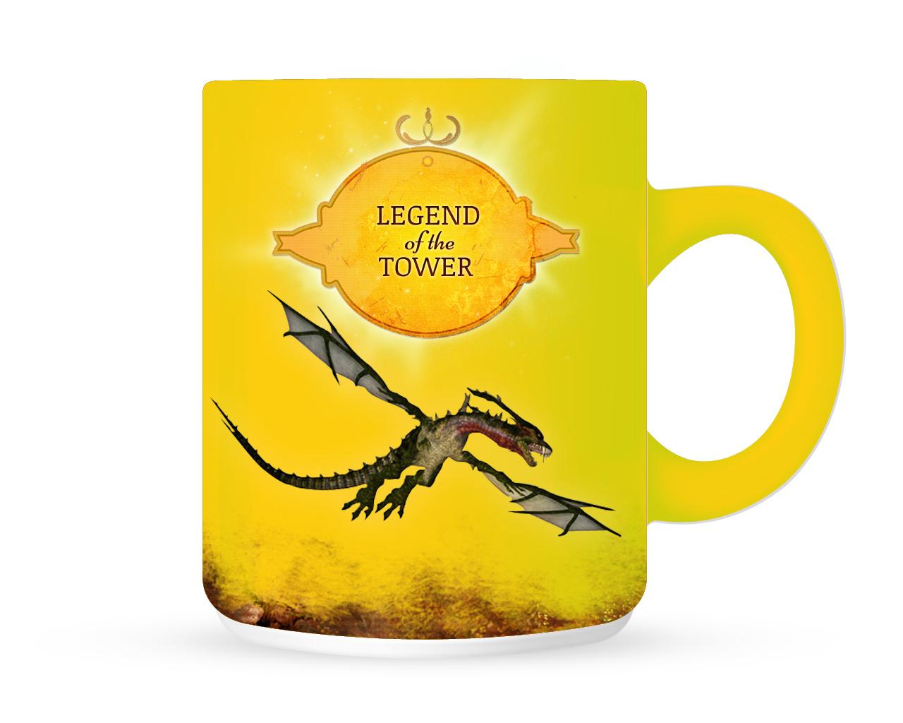 Yellow Dragon Mug