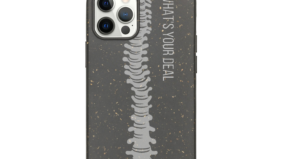 """Biodegradable """"What's Your Deal"""" Phone Case for iPhone"""