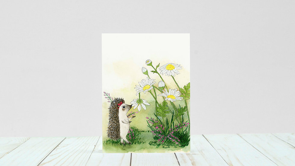 Little Bridget Biscuit - 5x7 Card