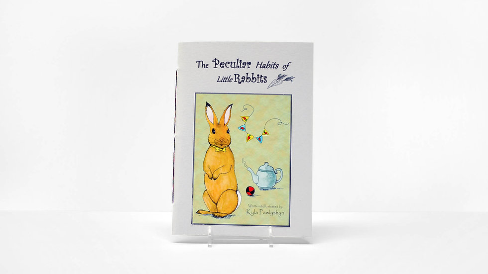 The Peculiar Habits of Little Rabbits - Storybook