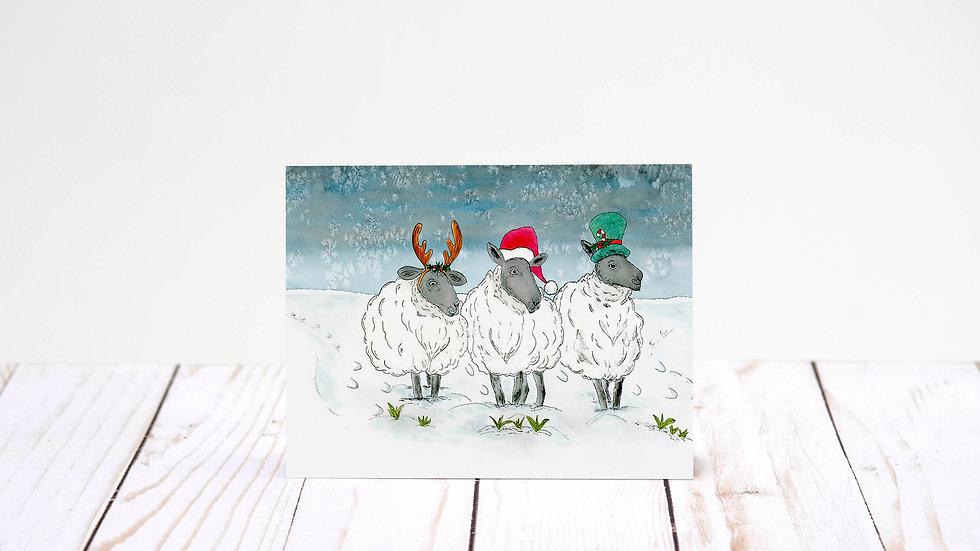 Fleece Navidad A7