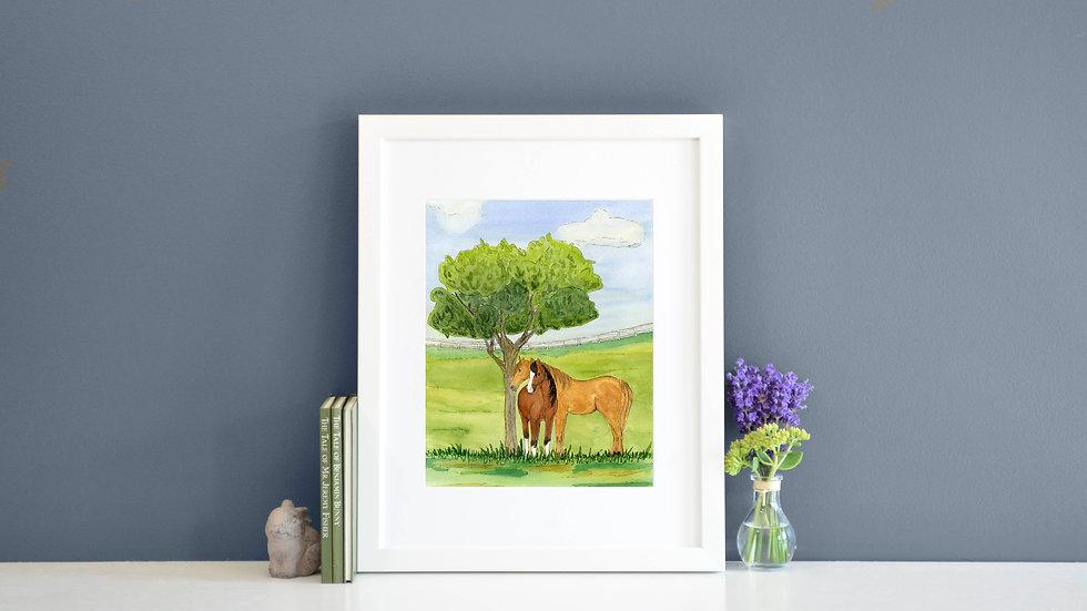 Horse Fields