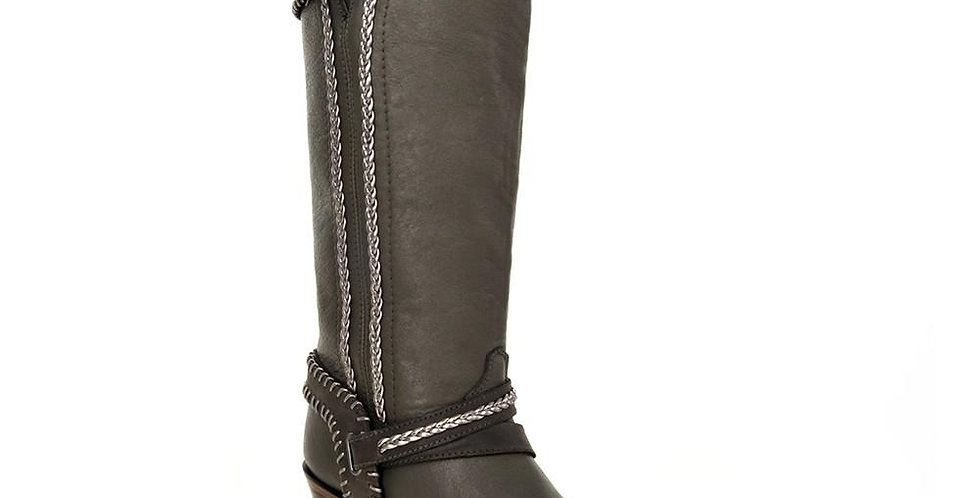 Cuadra Himalaya Women's Tall Grey Boot