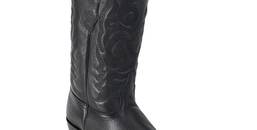 Los Altos Men's Deer J Toe Traditional Western Boots