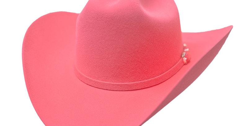 RRango Hats 10X Maximo- Pink Beaver  Felt Hat