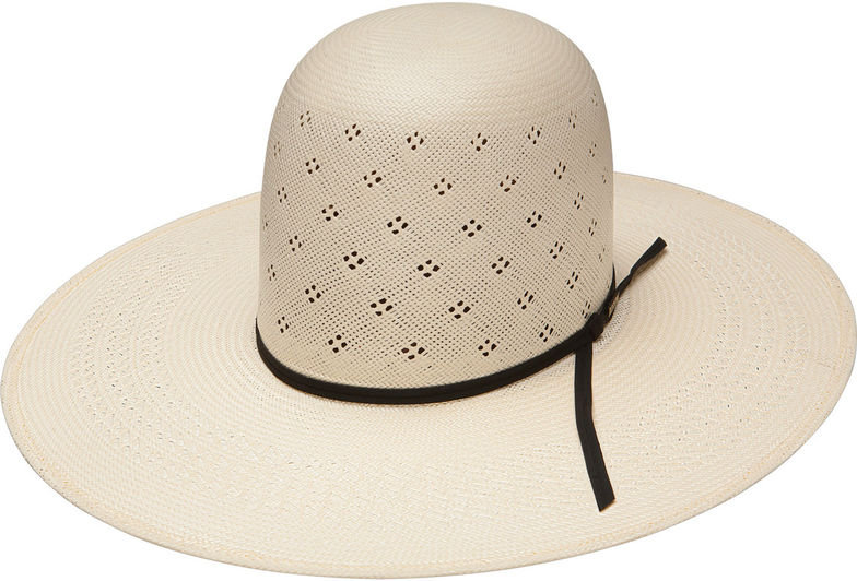 Resistol Men's Tuff-Anuff Conley Open Crown 20X Straw Hat