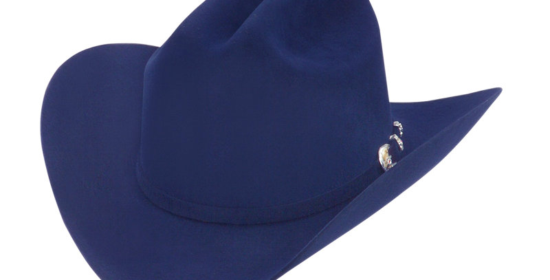 RRango Hats 10X Maximo - Electric Blue Felt Hat