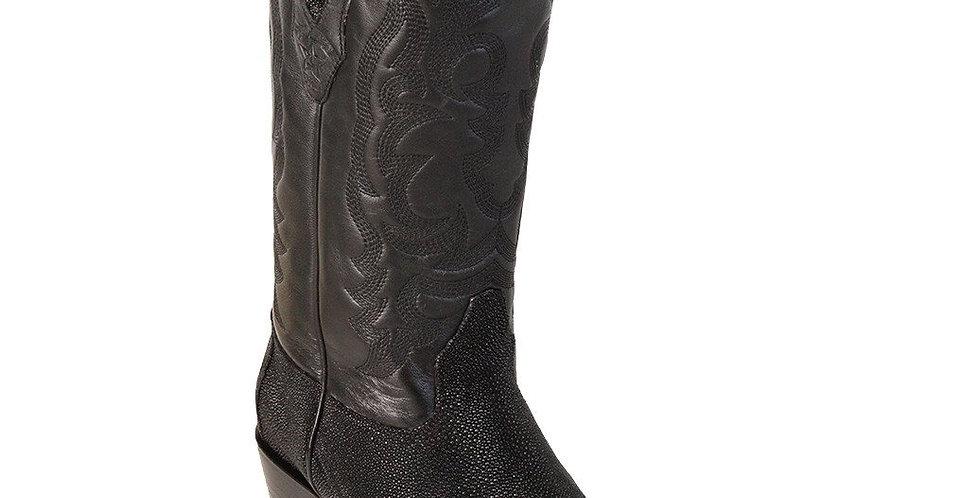 Los Altos Boots Men's Single Stone Stingray Boots