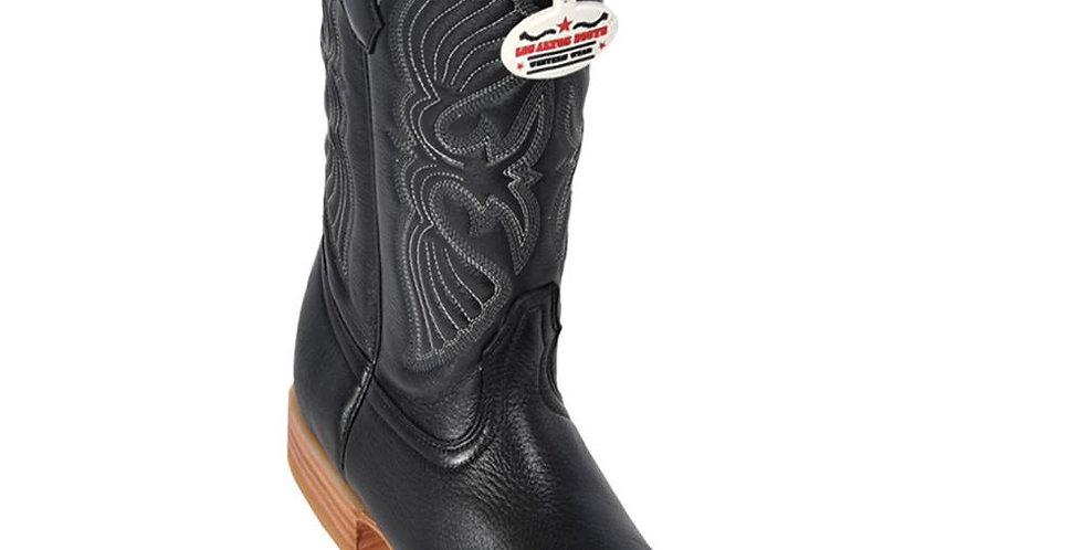 Los Altos Men's Deer European Toe Western Boot