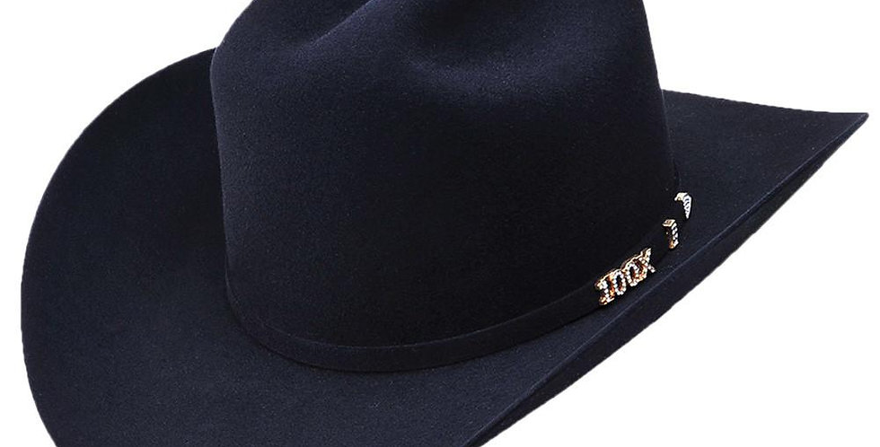 Serratelli Hat Company Black 100X Beaver Felt Hat