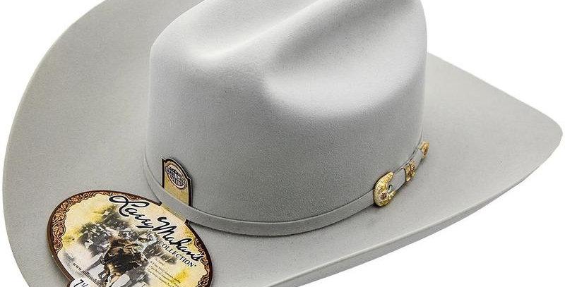 500x Larry Mahan Superior Fur Felt Cowboy Hat Platinum