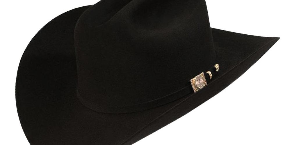 RRango Hats 100X El Jefe -  Black Beaver Felt Hat