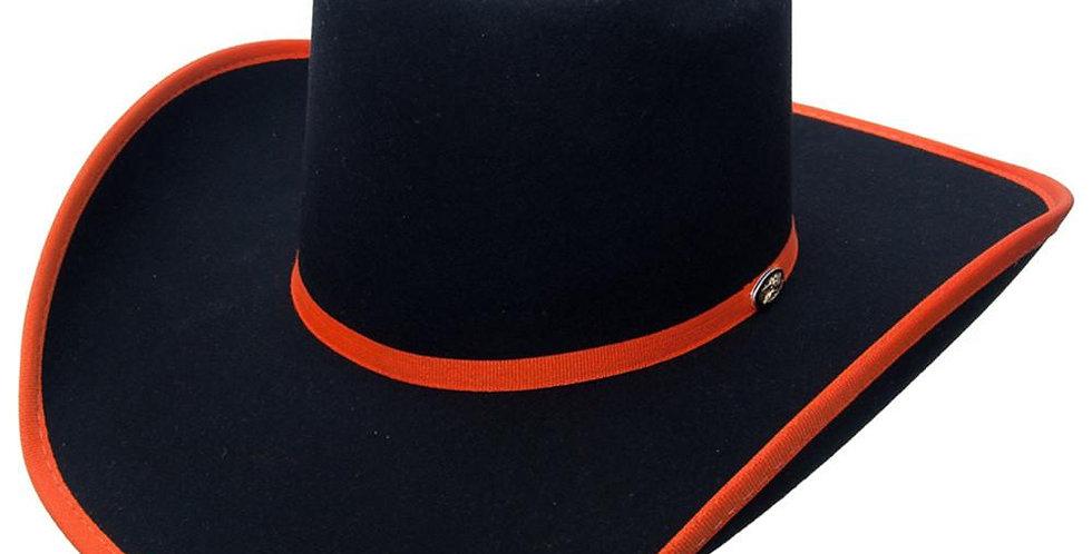 Cuernos Chuecos Brick Crown Felt Hat