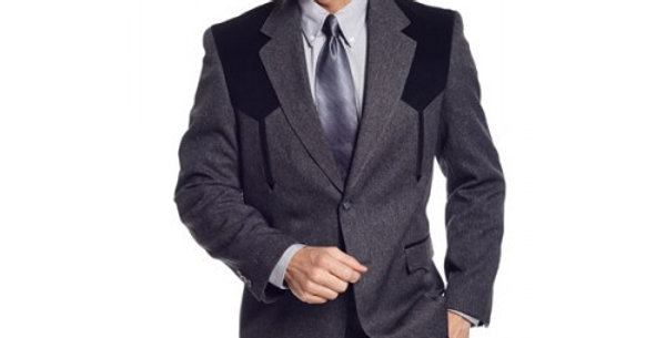 Circle S Men's Apparel - Heather Boise Sportcoat - Charcoal