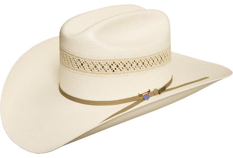 USTRC Resistol WildFire 10X Straw Cowboy Hat
