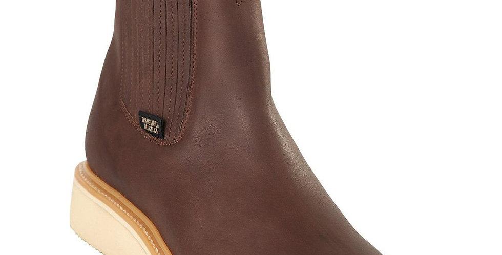 Original Michel Short Ankle Brown Work Boots