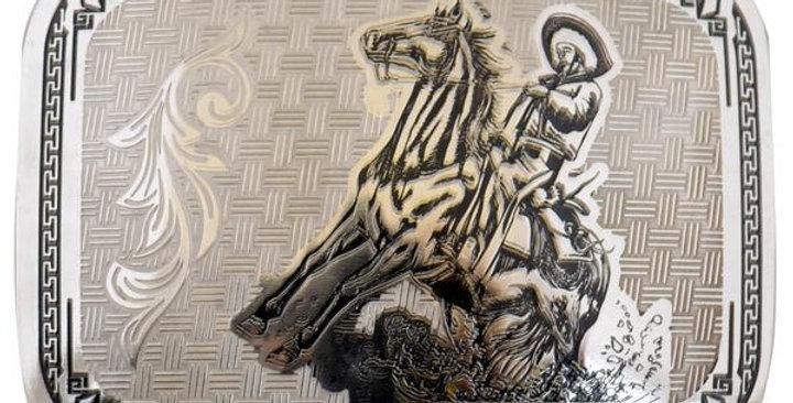METAL BUCKLE HORSE CREEK WD042