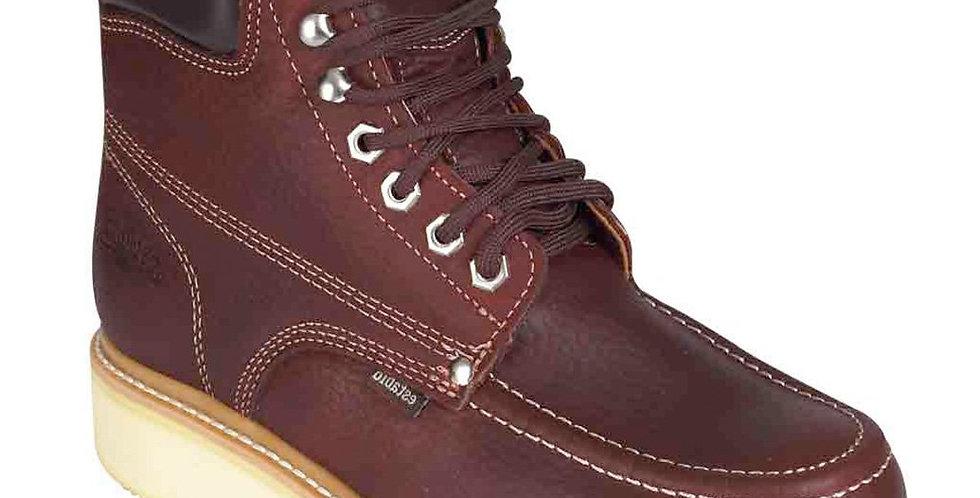 "Establo Brown Men's 6"" Mocc Toe Work Boots"