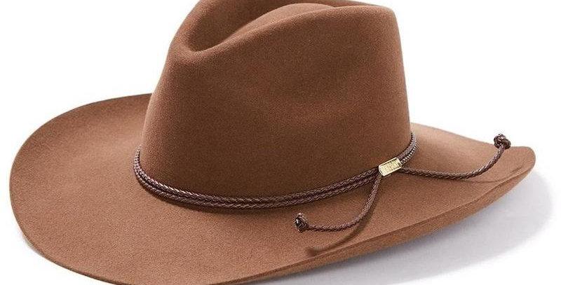 6x Stetson Carson Fur Felt Cowboy Hat