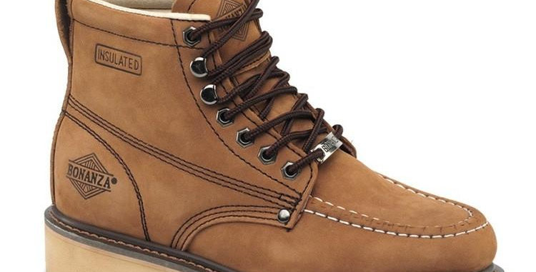 Bonanza 829 Mocc Toe Men's Work Boots