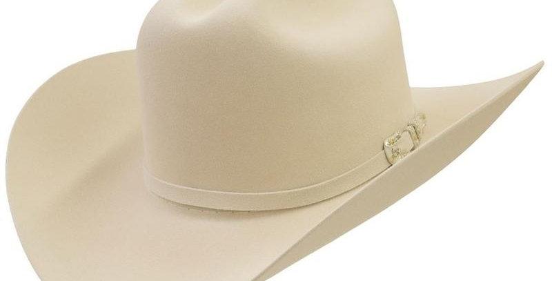 10x Larry Mahan Jerarca Fur Felt Cowboy Hat Silverbelly
