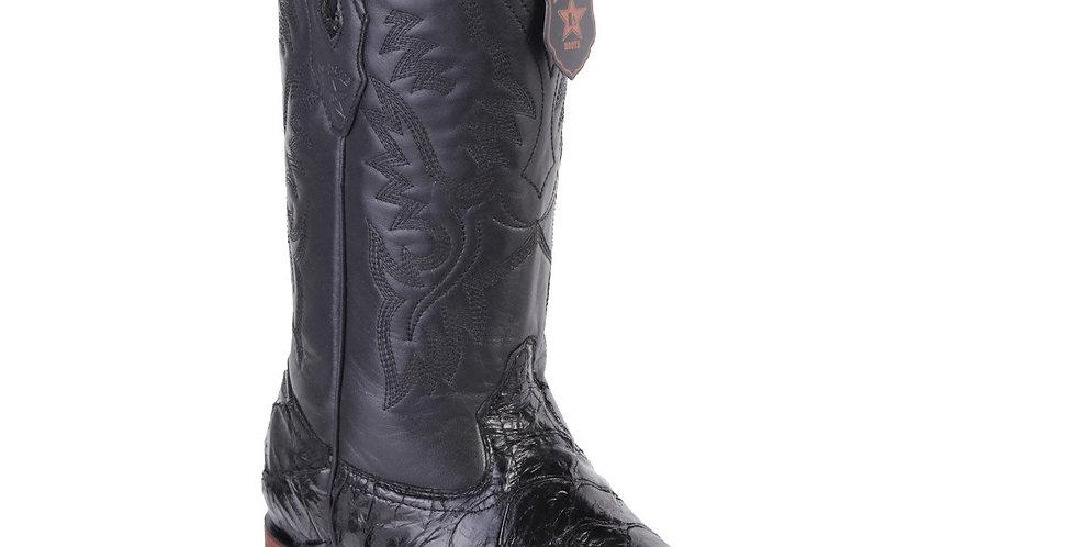 Los Altos Men's Pirarucu Fish Cowboy Boots