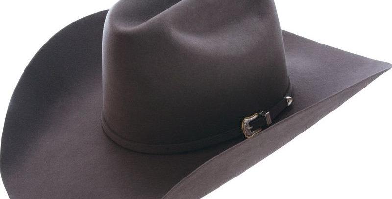 American 10X Steel Open Crown Felt Cowboy Hat