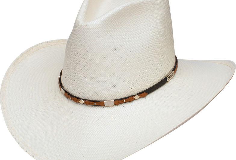 Stetson Men's Silver Horn 8X Straw Cowboy Hat