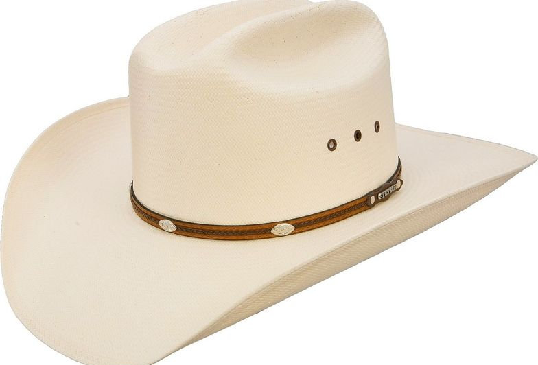 Stetson Alamo 8X Shantung Straw Cowboy Hat