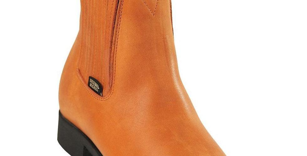 Original Michel Grasso Leather Cognac Charro Boot