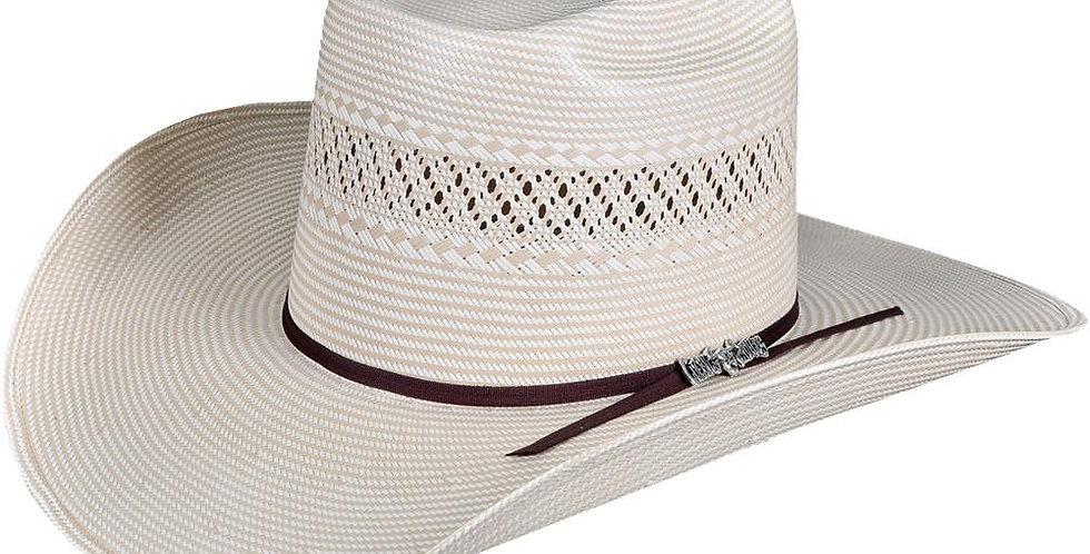 Cuernos Chuecos Two Tone Brick Crown Cowboy Hat