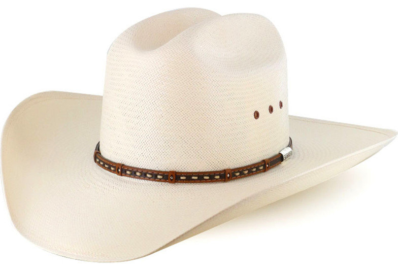 Stetson Hats Men's Decorated Hat Band Straw Hat