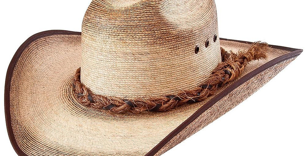 Cuernos Chuecos Traditional Palm Leaf Cowboy Hat