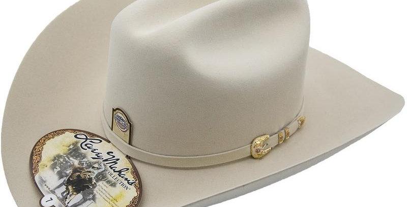 500x Larry Mahan Superior Fur Felt Cowboy Hat Silver Belly