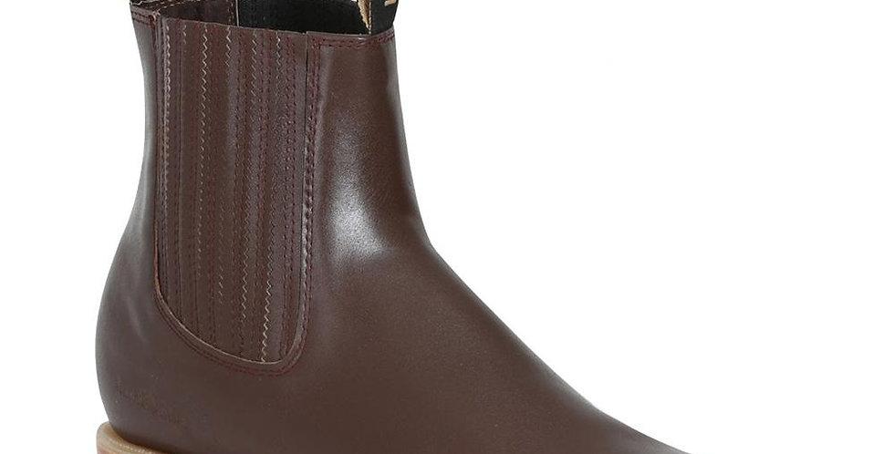 Potro Salvaje Men's Charro Ankle Boots