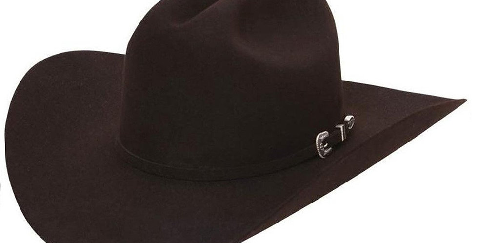 Stetson 6X Skyline Cowboy Felt Hat - Chocolate