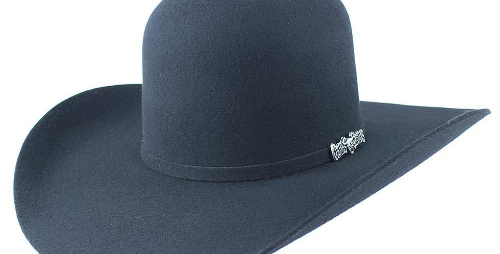 Cuernos Chuecos Open Crown Cowboy Felt Hat