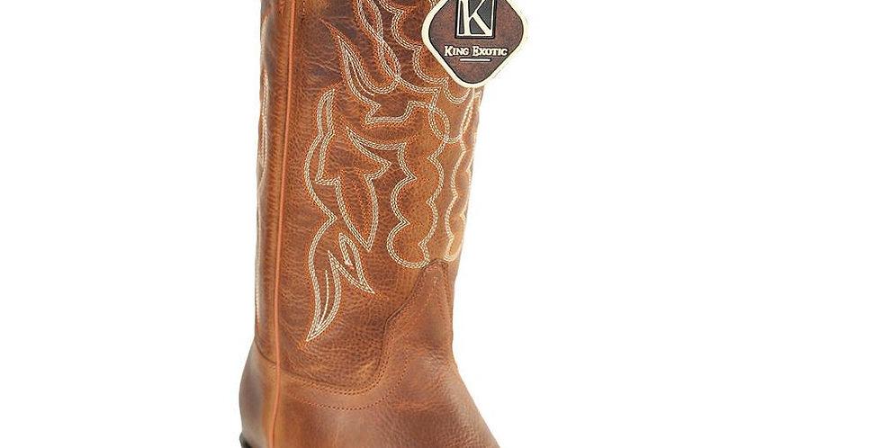 King Exotic Men's Snip Toe Cowboy Boots