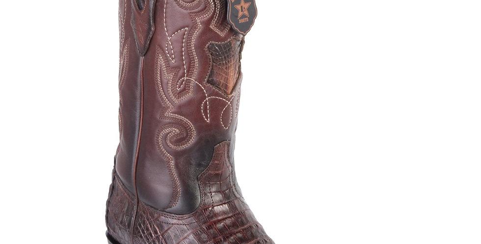Los Altos Men's Caiman Belly Cowboy Boots 7-Toe