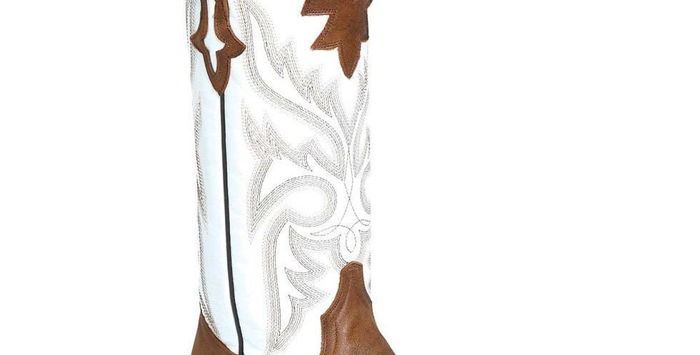 Rio Grande Women's Susy White Square Toe Boot