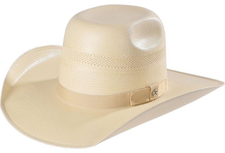 Hooey by Resistol Men's Natural Santa Fe Straw Cowboy Hat