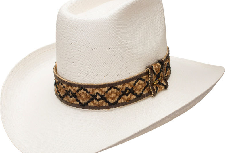 Resistol Men's Natural Hi Sierra Straw Cowboy Hat