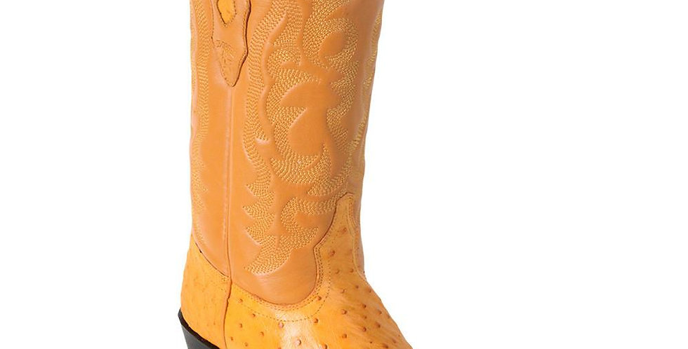Los Altos Buttercup Ostrich Cowboy Boot J Toe