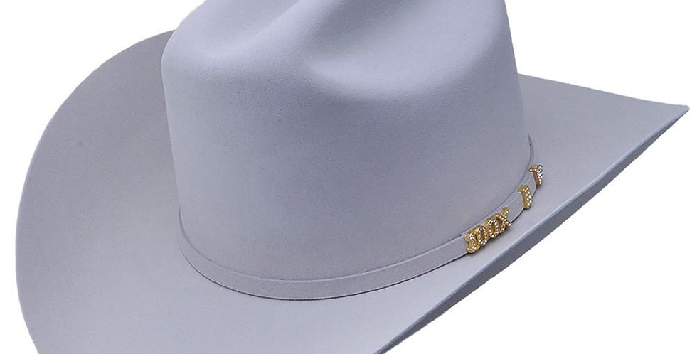 Serratelli Hat Company Platinum 100X Beaver Fur Cowboy Hat