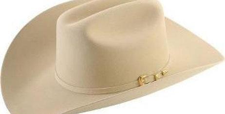 4x Larry Mahan El Dorado Fur Felt Hat Silver Belly