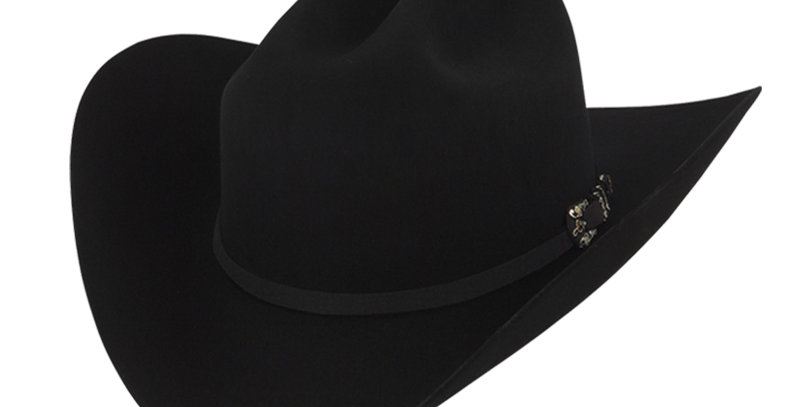 RRango Hats 10X Maximo - Black Felt Hat
