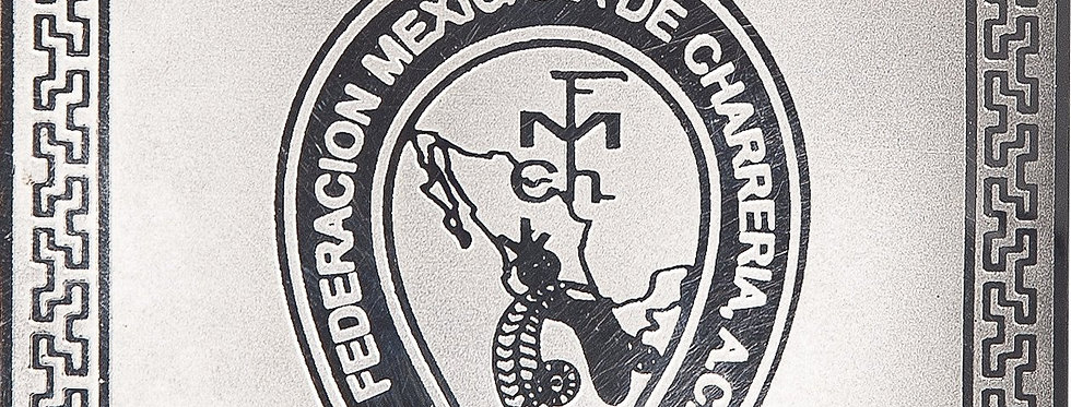 Hebilla Federación Mexicana De Charreria