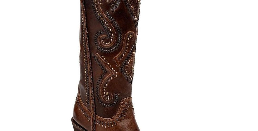 Cuadra Women's Hand-Stiched Sierra Boot Maple