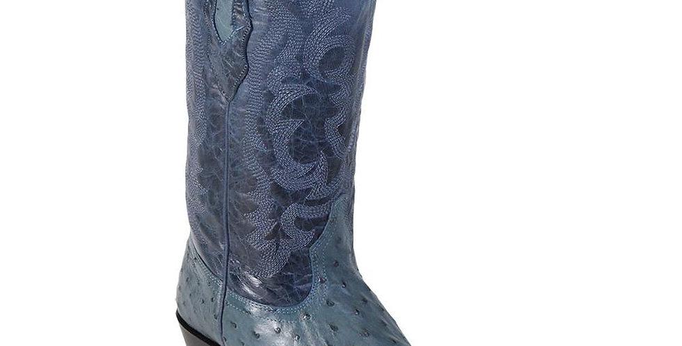 Los Altos Blue Jean Ostrich Cowboy Boot J Toe